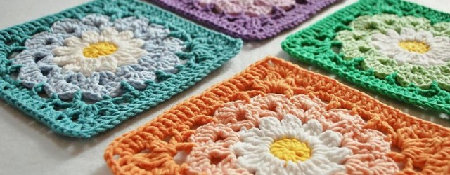 Free Patterns and Ideas for Crochet Afghan Squares 10 Flower Granny Square Crochet Patterns To Stitch