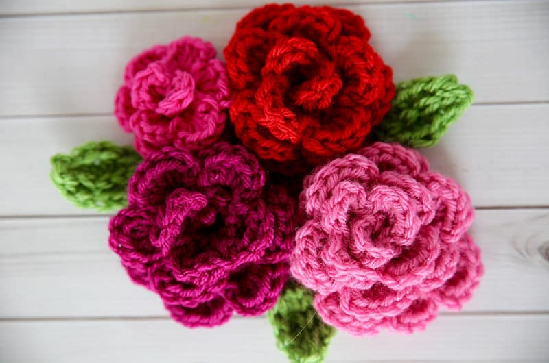 How To Make A Crochet Pattern 10 Beautiful Crochet Flowers To Make Skip To My Lou
