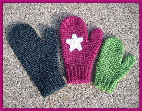 How To Make A Crochet Pattern Free Crochet Mittens Pattern Mrs Murdocks Mittens Interweave
