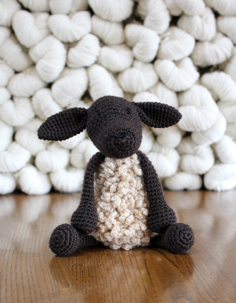 The Sweetest Crochet Lamb Patterns for Free Crochet Suffolk Sheep