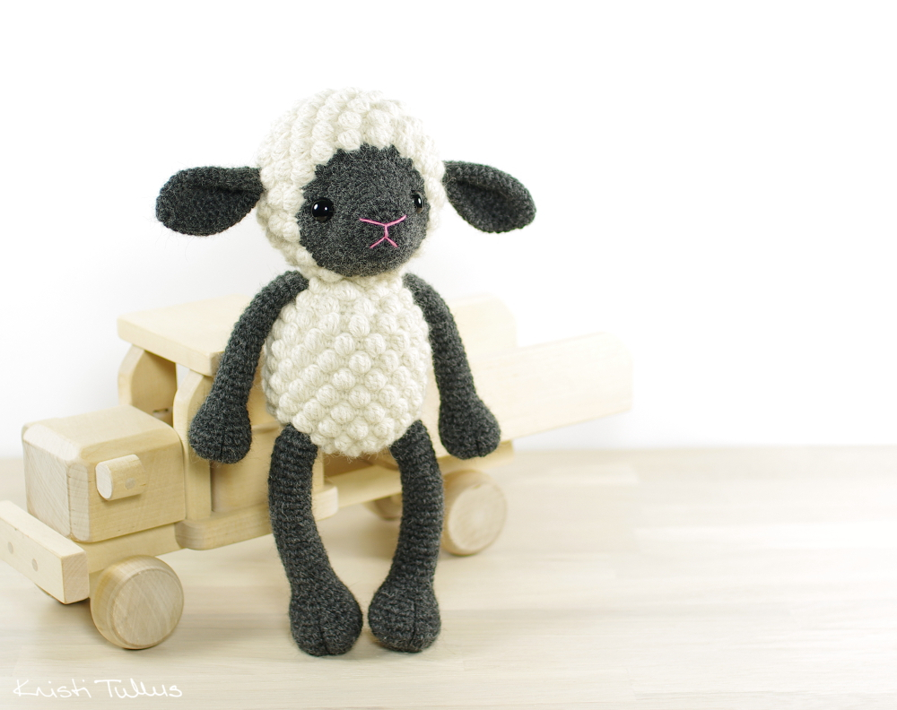 The Sweetest Crochet Lamb Patterns for Free Crocheted Sheep Pattern