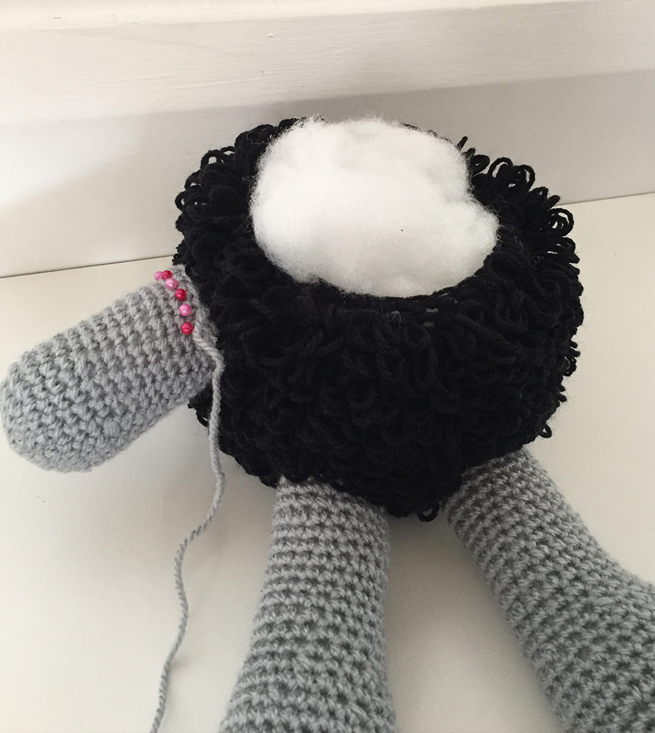 The Sweetest Crochet Lamb Patterns for Free Free Amigurumi Sheep Pattern Happy Crocheting