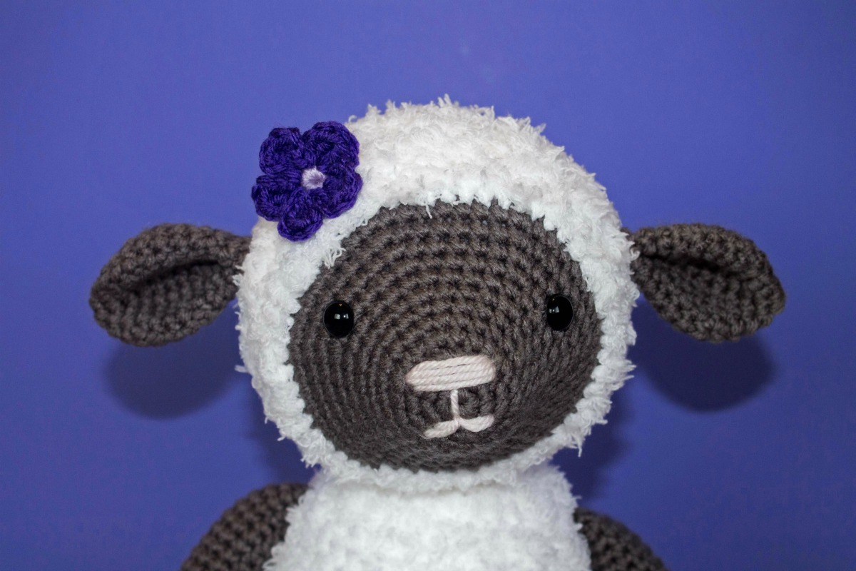 The Sweetest Crochet Lamb Patterns for Free Free Crochet Pattern For Crochet Lamb Thefriendlyredfox