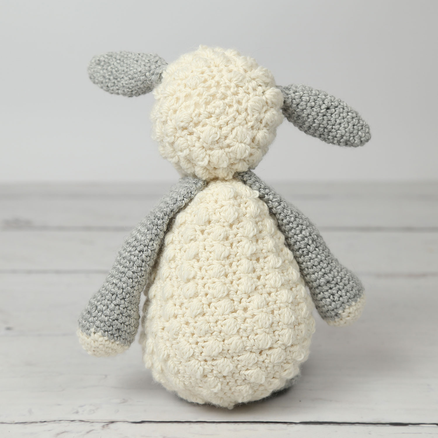The Sweetest Crochet Lamb Patterns for Free Laura The Lamb Crochet Kit Wool Couture