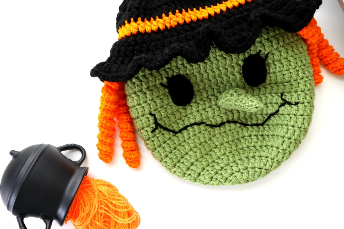 Tote Bag Patterns and Ideas that You Will Adore Halloween Witch Trick Or Treat Bag Crochet Pattern