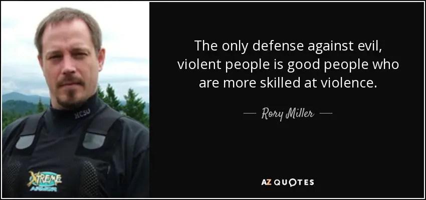 Az erőszakos támadás négy nemtelen igazsága