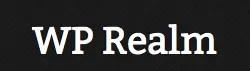 Escribiendo en WP Realm