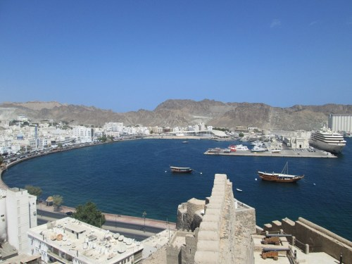 Muscat view from the fort