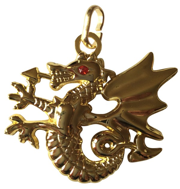 Médaille du Dragon or
