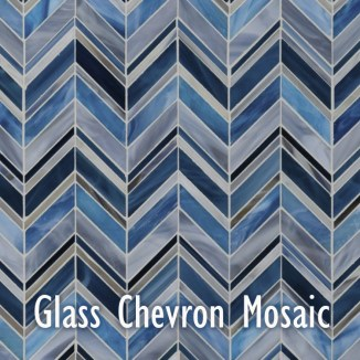 Artistic Tile_Swingin_Chevron_Blue