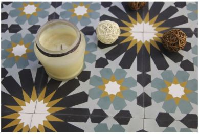 Houzz: Rotterdam Cement Tile 8x8_detail