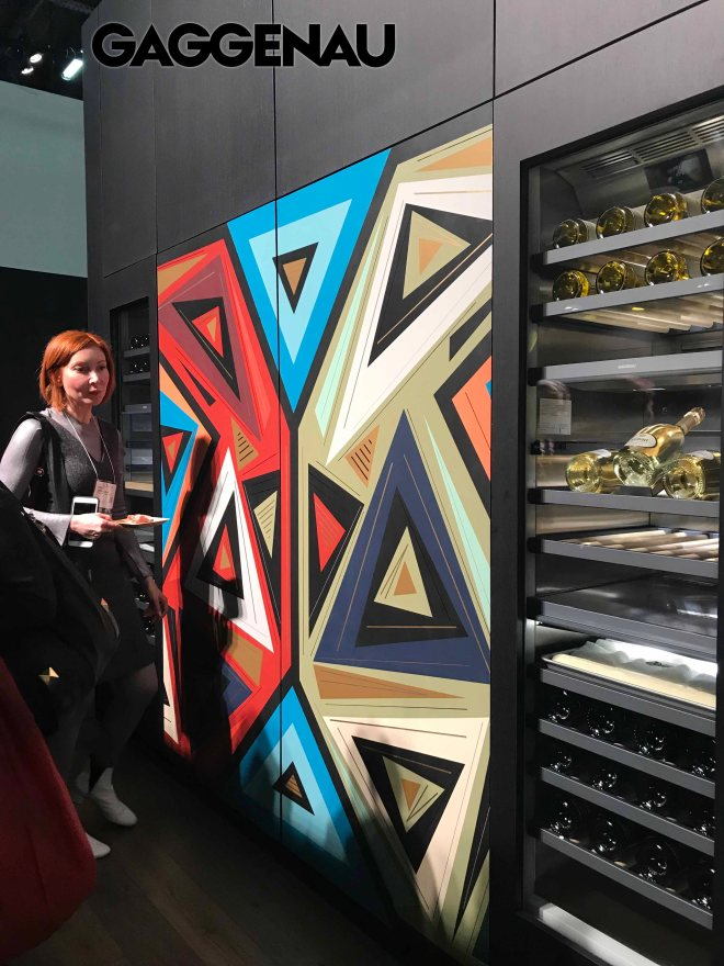 Gaggenau Hand painted panels