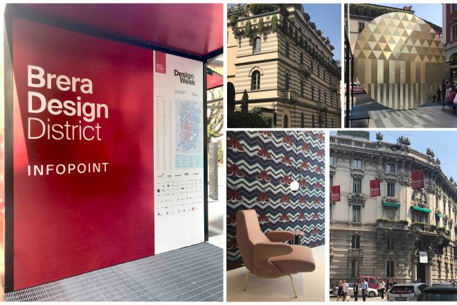 BRERA DESIGN WEEK COLLAGE