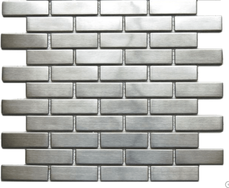 Houzz_Eden Mosaic stainless steel tile