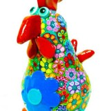 MIRAKRIS_Chicken sculpture_Etsy