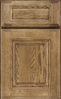 Rushmore Raised Panel oak Cappuccino