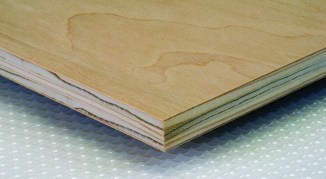 Fir core plywood