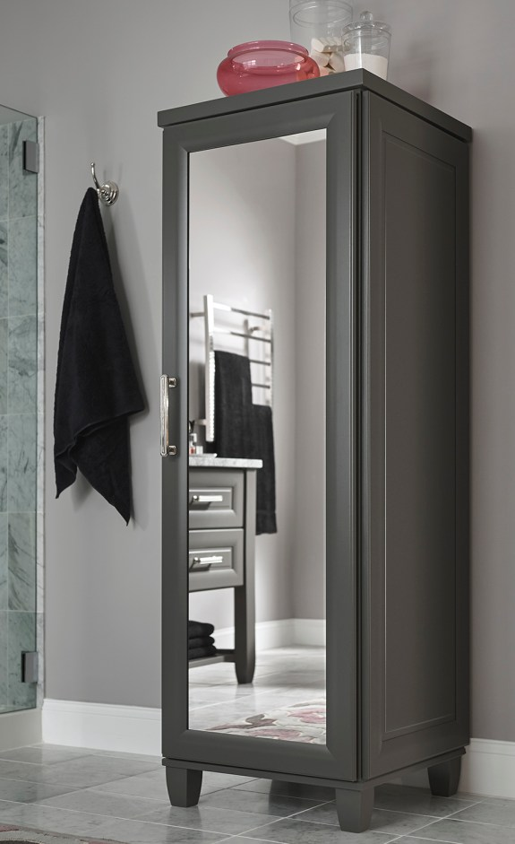 Medallion_Solare Bath_Venice FP_Earl Grey_Linen with Mirror