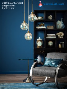 Sherwin Williams 2019 Color Forecast_Shapeshifter_Endless Sea