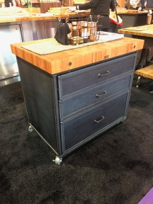 John Boos Steel drawer cart