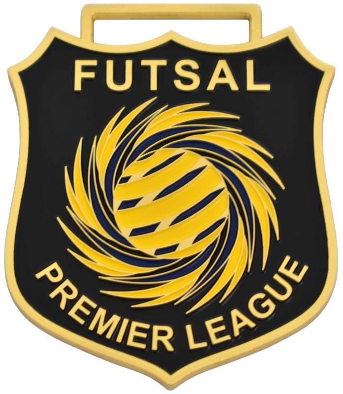 Medals Australia - Custom Designed Medals - Futsal Premier League 2018