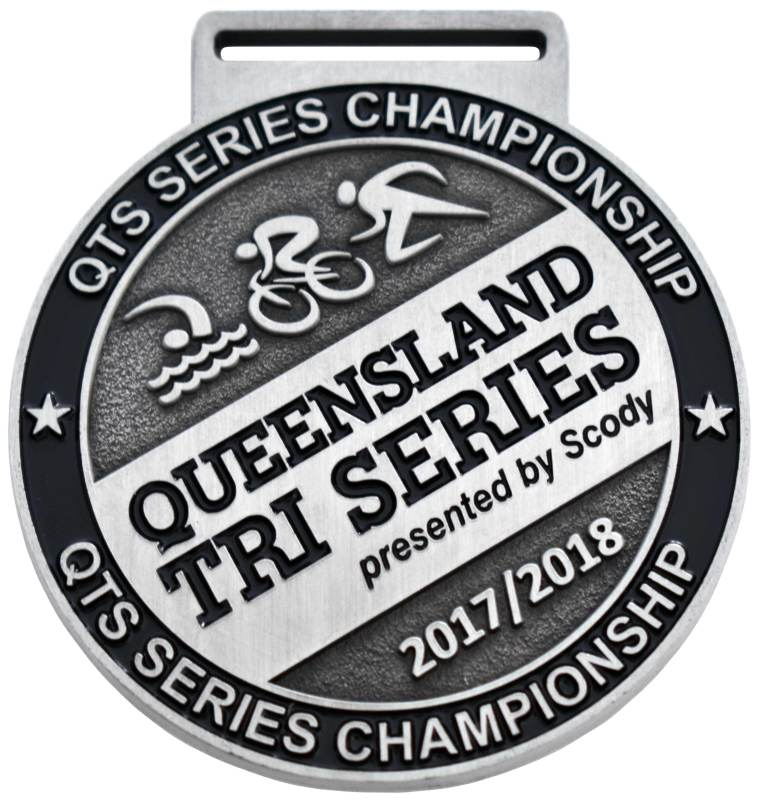 Medals Australia - Custom Designed Medals - Queensland Tri Series 2017-2018