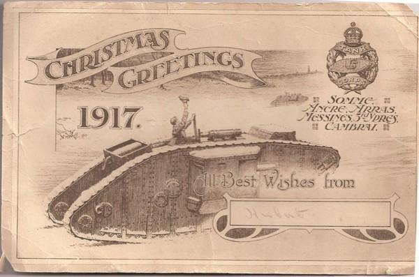 WWI Pair Cap Badge SWB Amp War Service Badges TANK