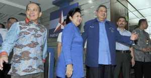 SBY hadiri rapat pleno Partai Demokrat. merdeka.com/arie basuki