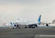 Garuda Indonesia Pensiunkan Pesawat Boeing 747 - 400 Terakhirnya