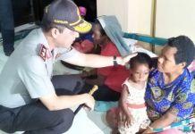 Kapolda Papua Irjen Pol Boy Rafli Amar melihat kondisi masyarakat pasca dievakuasi.(Dok Humas Polda Papua)