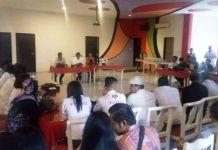 Rapat koordinasi para perwakilan Relawan Jokowi se-Sumatera Utara, Kamis (16/11/2017).(KOMPAS.com/Mei Leandha)