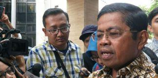 Sekretaris Jenderal DPP Golkar, Idrus Marham ketika ditemui di kantor DPP Golkar, Jakarta Barat, Senin (20/11/2017).(KOMPAS.com/ MOH NADLIR)