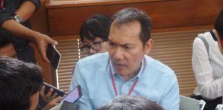 Wakil Ketua KPK Saut Situmorang di Pengadilan Negeri Jakarta Selatan, Selasa (26/9/2017).(KOMPAS.com/AMBARANIE NADIA)