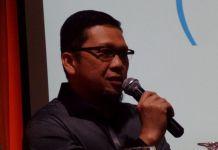 Ketua GMPG Ahmad Doli Kurnia dalam diskusi di Jakarta, Minggu (10/9/2017).(KOMPAS.com/AMBARANIE NADIA)