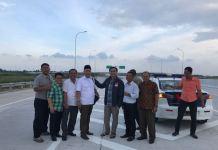 Anggota Komisi I DPR RI Effendi MS Simbolon menyempatkan diri melintasi ruas jalan tol Medan - Binjai dan juga ruas jalan tol Kualanamu - Sei Rampah yang diresmikan Preside Joko Widodo bulan Oktober lalu.