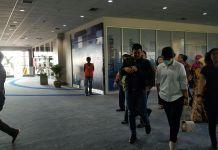 Bobby Nasution dan Kahiyang Ayu tiba di Bandara Internasional Kualanamu, Deli Serdang, Sumatera Utara, Minggu, (19/11) pukul 13.34 WIB.