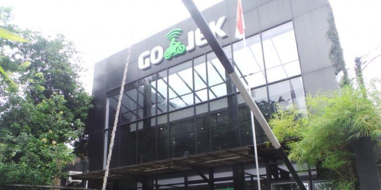Kantor Pusat Go-jek di Kemang, Mampang Prapatan, Jakarta Selatan. Jumat (18/12/2015)(Kompas.com/Robertus Belarminus)