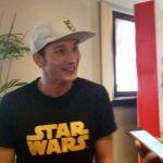 Mike Lewis saat ditemui di screening film Star Wars: The Last Jedi di Mall Kelapa Gading, Jakarta Utara, Selasa (12/11/2017). (Kompas.com/Ira Gita)