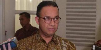 Gubernur DKI Jakarta Anies Baswedan di Balai Kota, Kamis (21/12/2017).(KOMPAS.com/NIBRAS NADA NAILUFAR)