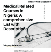 Medical Related Courses in Nigeria