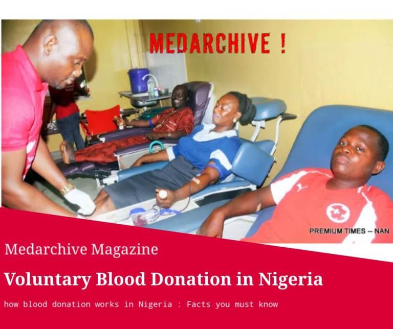 Voluntary blood donation in Nigeria