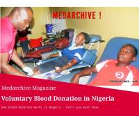 my first time blood donation experience in Nigeria