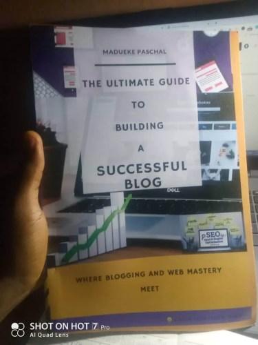 ultimate blog guide hard copy