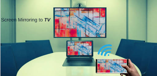 Screen mirroring from phone to TV or Laptop