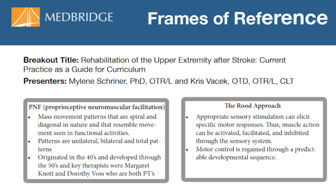 Occupational Therapy Frames Of Reference For Stroke | Frameviewjdi.org
