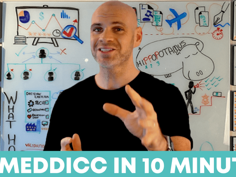 VIDEO: MEDDPICC in 10 minutes!