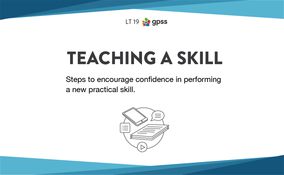 LT 19 - Teaching a skill 1