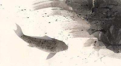 江田朋百香 0.泳鯉