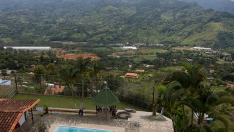Visiting a Finca in Copacabana
