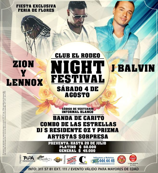 Reggaeton concert